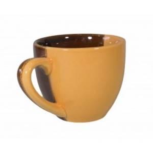 Комплект керамических чашек «Одесса» коранж от 6 шт