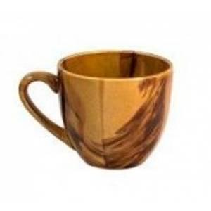 Комплект керамических чашек «Одесса» радуга коричневая от 6 шт