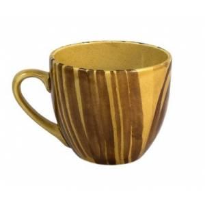 Комплект керамических чашек «Одесса» рисовка дубок от 6 шт