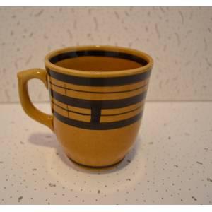 Комплект керамических чашек «Одесса» рисовка клетка от 6 шт
