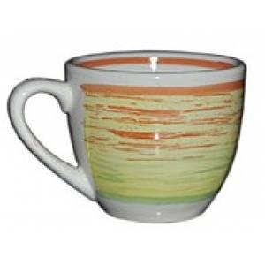 Комплект керамических чашек «Одесса» рисовка колорит от 6 шт