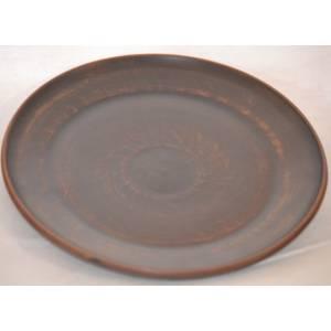 Глиняная блюдце арт.0033
