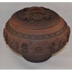 Глиняный горшок арт-415 обьем 1,5 л