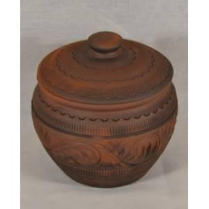Глиняный горшок арт-452 обьем 0,45 л
