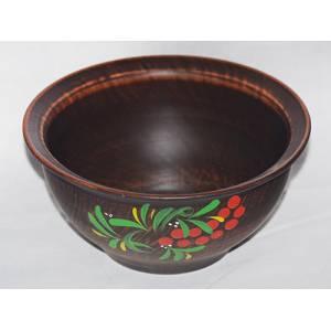 Глиняная кисе гончарная с росписью обьем 0.6 л арт.0073