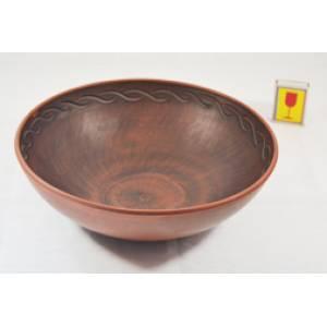 Глиняная макитра малая обьем 1.8 л арт.33Б