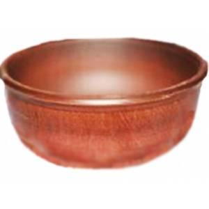 Глиняная миска гончарная гладкая обьем 1 л арт.0023