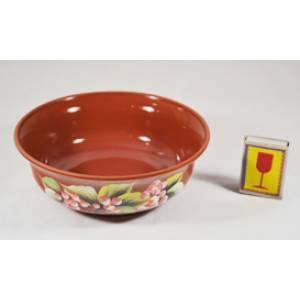 Глиняная миска глазурь обьем 0.6 л арт.48Б