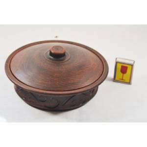 Глиняная сковорода малая арт.12Б