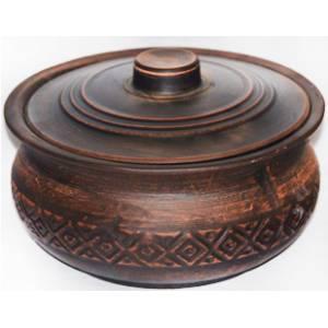 Глиняная варенчица обьем 1,6 л арт.0012