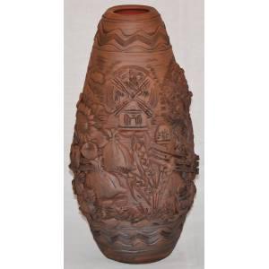 Ваза глиняная арт-800