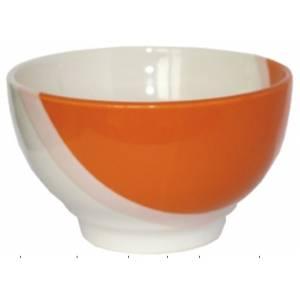 Пиала керамическая Капля оранжевая 600 мл. 1 шт