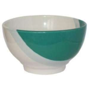 Пиала керамическая Капля зеленая 600 мл. 1 шт