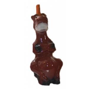 Глиняная садовая фигура Конь Юлий высота 33 см
