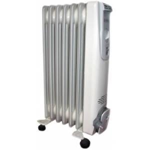 Масляный радиатор ТЕРМИЯ Н 0712 мощность 1,2 кВт с датчиком опрокидывания