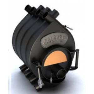 """Канадская отопительная печь """"CALGARY"""",печь длительного горения,буллер 00 с12 (6квт) стекло 240*R120"""