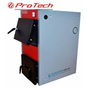 Котел твердотопливный комбинированный ProTech ТТ 21с Д Luxe,сталь 4 мм,21 кВт,плюс электро,охлаждаемые колосники