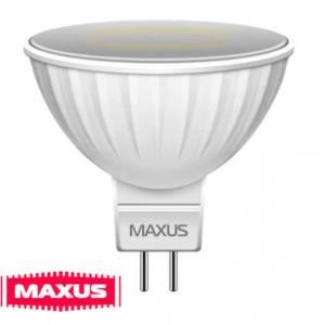 Лампа Maxus LED 3W мягкий свет MR16 GU5.3 220V-1-LED-143-01