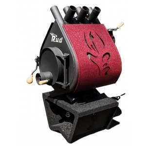 Печь дровяная RUD Pyrotron Кантри 11 кВт Red