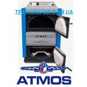 Котел дровяной пиролизный ATMOS DC 100S (99 кВт)