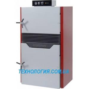 Котел твердотопливный пиролизный Viadrus Hefaistos P1 Е (4 секции, 40 кВт)