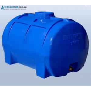 Емкость горизонтальная на 100 литров однослойная Euro Plast