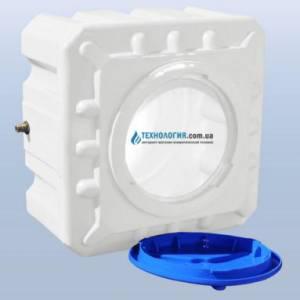 Емкость квадратная на 100 литров однослойная Euro Plast