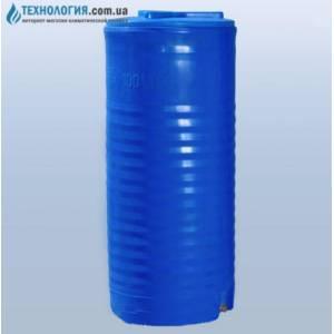 Емкость вертикальная на 100 литров двухслойная Euro Plast