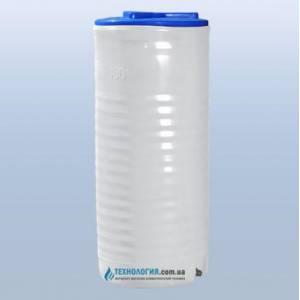 Емкость вертикальная на 100 литров однослойная Euro Plast