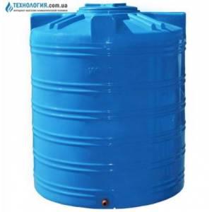 Емкость вертикальная на 1000 литров однослойная Euro Plast