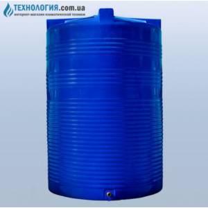 Емкость вертикальная на 10000 литров двухслойная Euro Plast