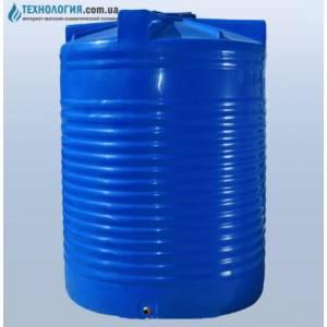 Емкость вертикальная на 12500 литров вдухслойная Euro Plast