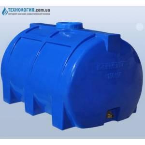 Емкость горизонтальная на 150 литров однослойная Euro Plast