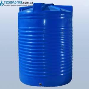 Емкость вертикальная на 15000 литров двухслойная Euro Plast