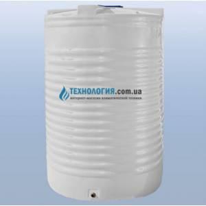 Емкость вертикальная на 17500 литров однослойная Euro Plast