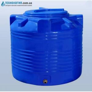 """Емкость вертикальная """"бочка"""" на 200 литров двухслойная Euro Plast"""