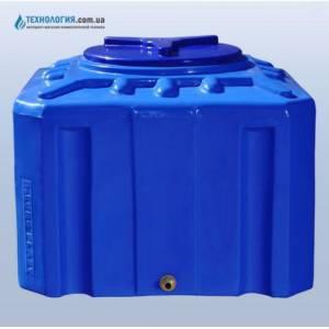 Емкость квадратная на 200 литров двухслойная Euro Plast