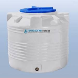 """Емкость вертикальная """"бочка"""" на 200 литров однослойная Euro Plast"""