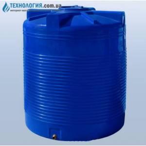 Емкость вертикальная на 2000 литров двухслойная Euro Plast