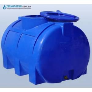 Емкость горизонтальная на 250 литров двухслойная Euro Plast