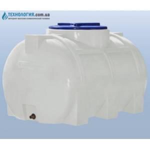 Емкость горизонтальная на 250 литров однослойная Euro Plast