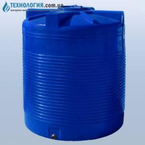 Емкость вертикальная на 3000 литров двухслойная Euro Plast
