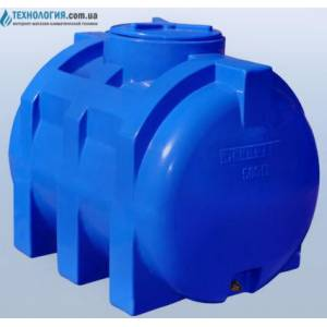 Емкость горизонтальная на 500 литров двухслойная Euro Plast