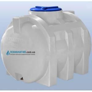 Емкость горизонтальная на 500 литров однослойная Euro Plast