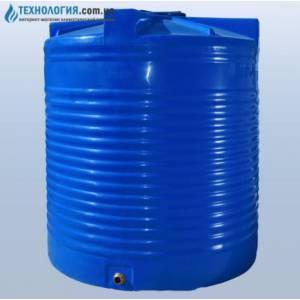 Емкость вертикальная на 5000 литров двухслойная Euro Plast