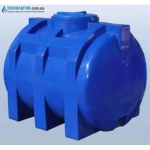 Емкость горизонтальная на 750 литров двухслойная Euro Plast
