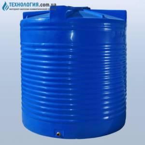 Емкость вертикальная на 7500 литров двухслойная Euro Plast