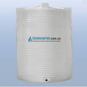 Емкость вертикальная на 7500 литров однослойная Euro Plast
