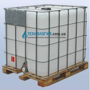 Еврокуб на 1000 литров на деревянном поддоне