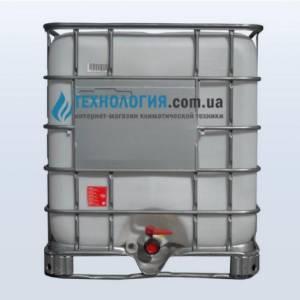 Еврокуб на 1000 литров на металлическом поддоне